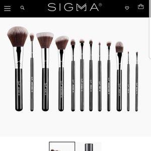 Iso sigma brushes